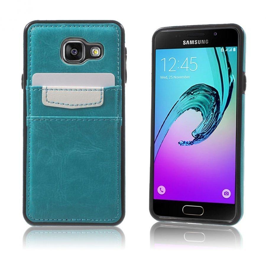 Cangaroo Samsung Galaxy A3 2016 Kuori Vaaleansininen