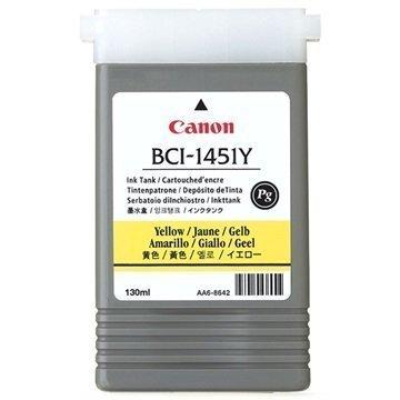 Canon BCI-1451Y Mustekasetti 0173B001 Keltainen