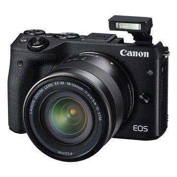 Canon EOS M3 Digitaalikamera Musta