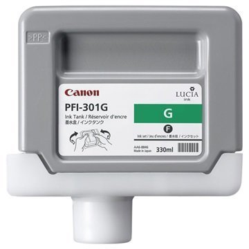Canon PFI-301G Mustepatruuna 1493B001 Vihreä