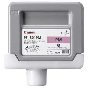 Canon PFI-301PM Mustepatruuna 1491B001 Valokuva Magenta