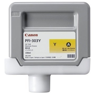Canon PFI-303Y Mustepatruuna 2961B001 Keltainen