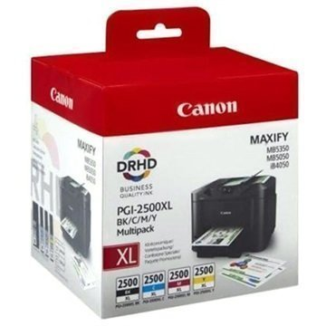 Canon PGI-2500XL Mustepatruunapaketti 9254B004 4 Väriä