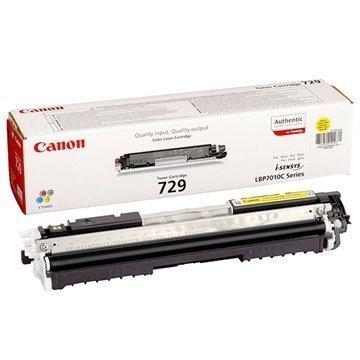 Canon i-SENSYS LBP7010C LBP7018C Toner 729 Keltainen
