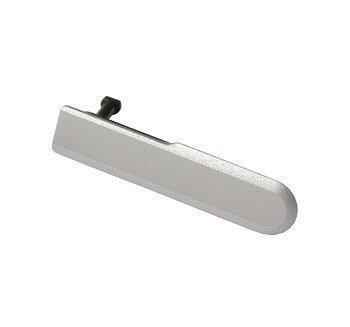 Cap USB Sony D5503 Xperia Z1 Compact valkoinen Alkuperäinen