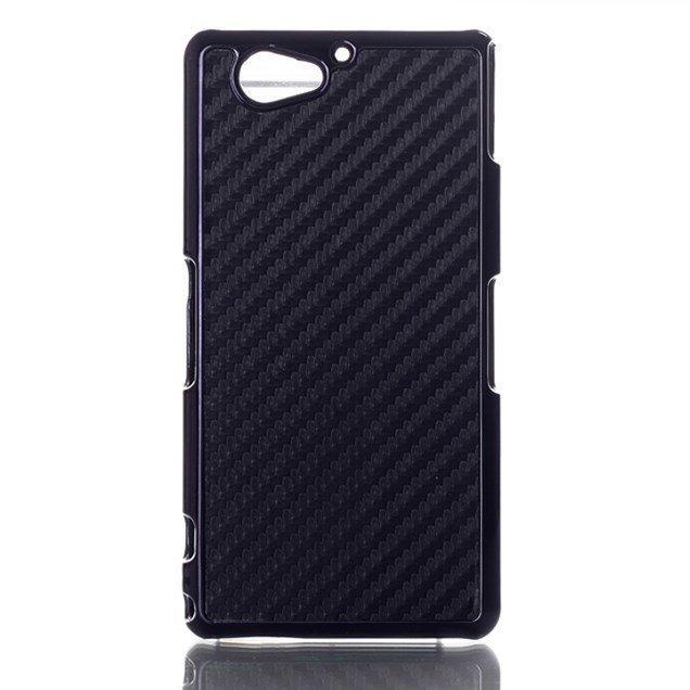 Carbon Musta Sony Xperia A2 Soujakuoret