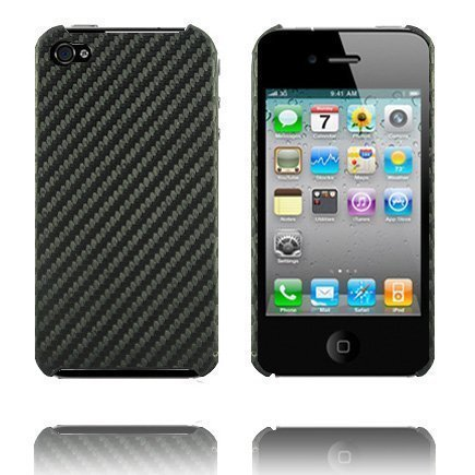 Carbonite Musta Iphone 4 Suojakuori