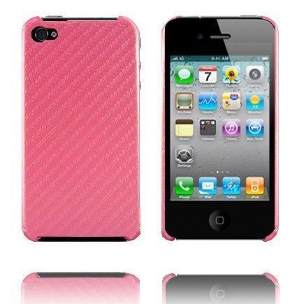 Carbonite Pinkki Iphone 4 Suojakuori