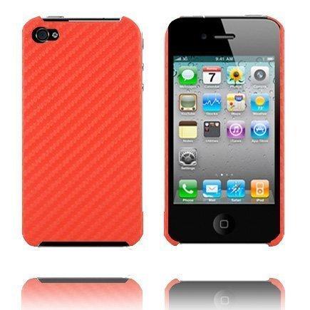 Carbonite Punainen Iphone 4 Suojakuori