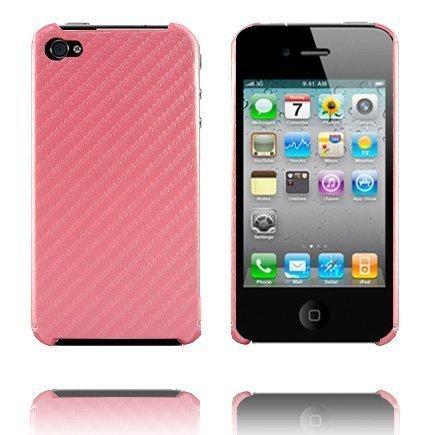 Carbonite Vaaleanpunainen Iphone 4 Suojakuori