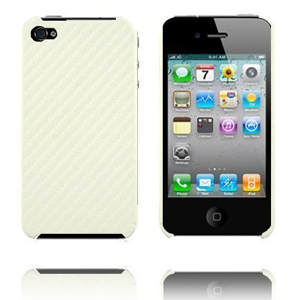 Carbonite Valkoinen Iphone 4 Suojakuori