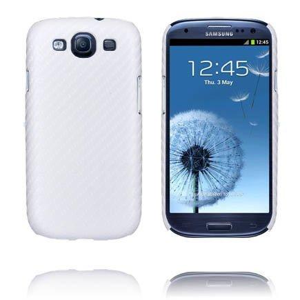 Carbonite Valkoinen Samsung Galaxy S3 Suojakuori