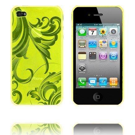 Caribia Keltainen Iphone 4 Silikonikuori
