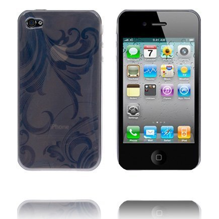 Caribia Musta Iphone 4 Silikonikuori