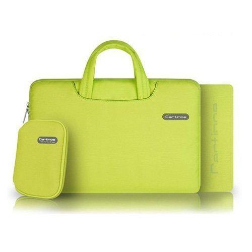 """Cartinoe Keltainen Macbook Pro 11.6"""" Kangaslaukku Vetoketjulla"""