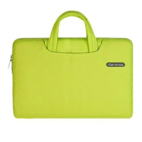 """Cartinoe Keltainen Macbook Pro 13.3"""" Kangaslaukku Vetoketjulla"""
