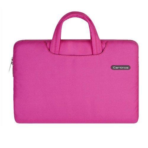 "Cartinoe Pink Macbook Pro 13.3"" Kangaslaukku Vetoketjulla"