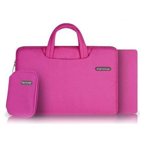 """Cartinoe Pinkki Macbook Pro 11.6"""" Kangaslaukku Vetoketjulla"""