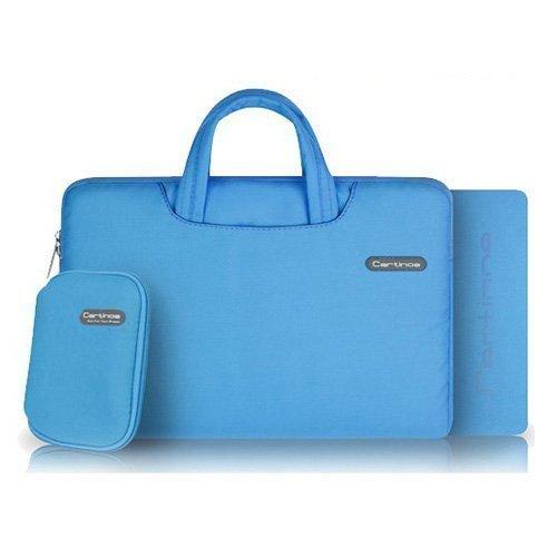"""Cartinoe Sininen Macbook Pro 11.6"""" Kangaslaukku Vetoketjulla"""
