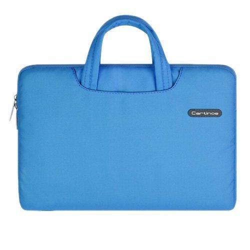 """Cartinoe Sininen Macbook Pro 13.3"""" Kangaslaukku Vetoketjulla"""