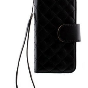 Case Folio for Samsung Galaxy S4 Mini Quilted Black