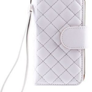Case Folio for Samsung Galaxy S4 Mini Quilted White