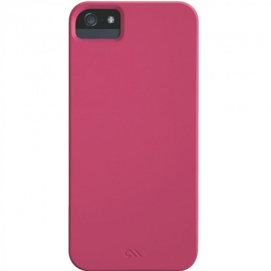 Case-Mate Barely There Samsung Galaxy S5 Alumiini Suojakuori Pinkki