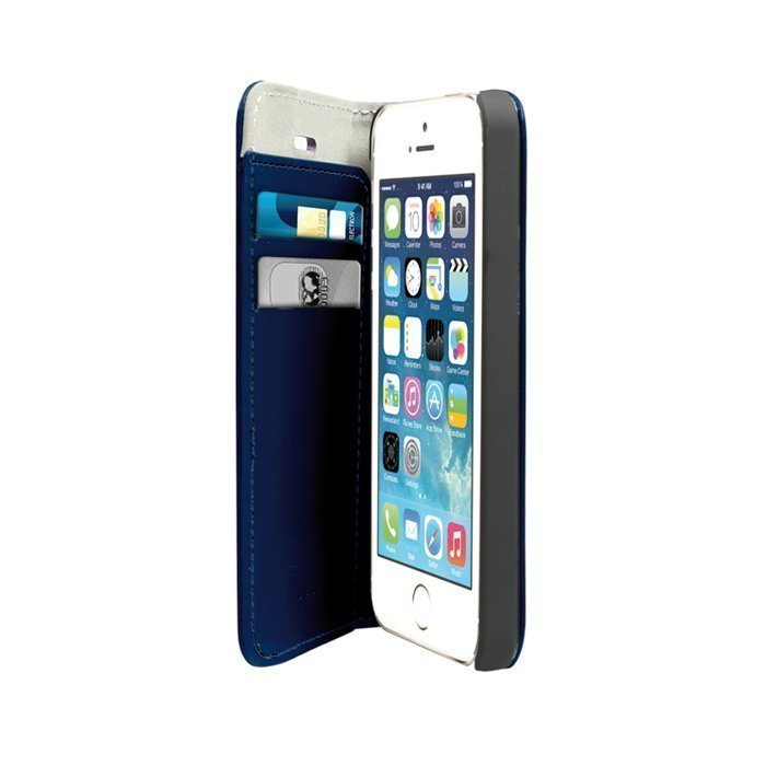 Case SBS BOOKLET iPhone 5 ja 5S sininen