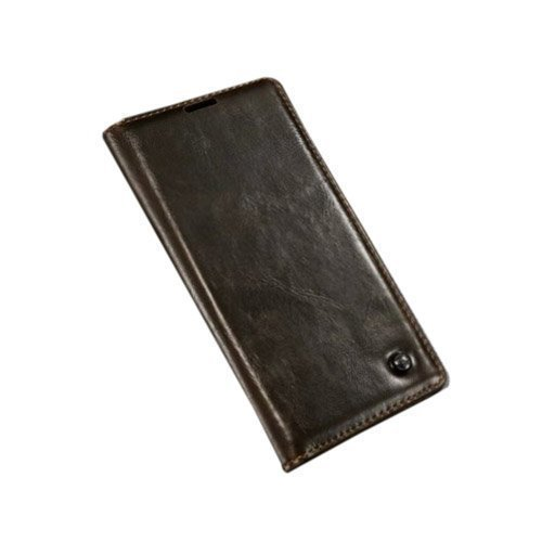 Caseme Sony Xperia Z3+ Nahkakotelo Ruskea