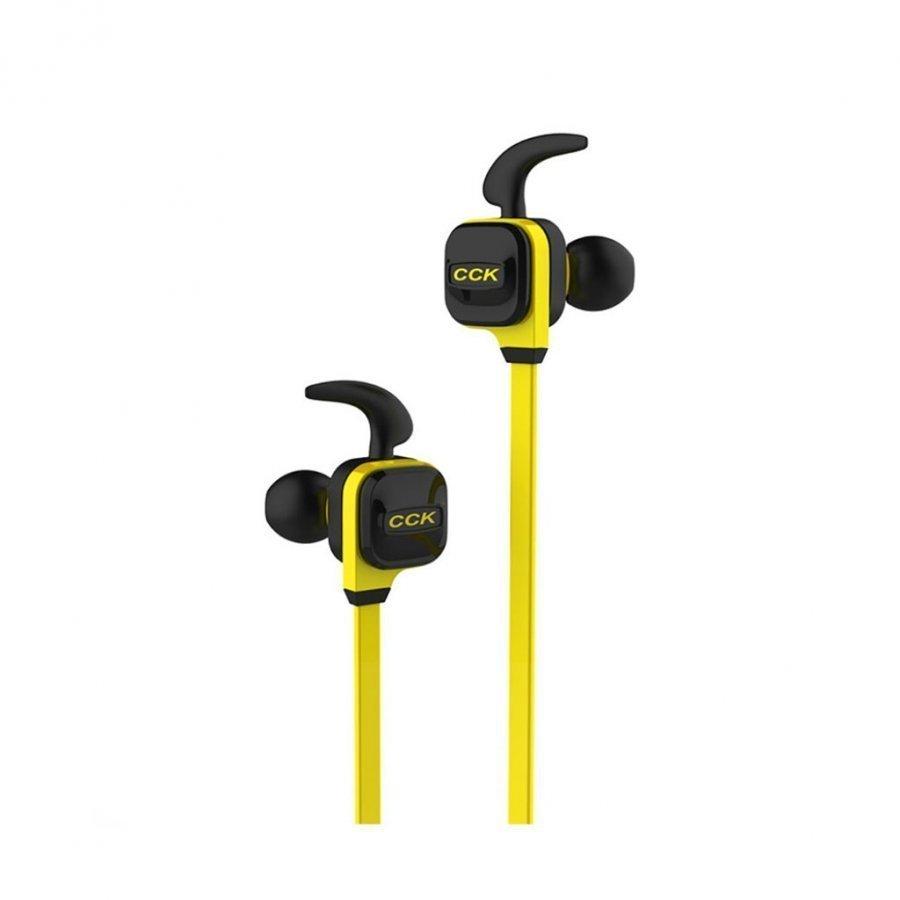Cck-Ks Langattomat Bluetooth 4.1 Kuulokkeet Mikrofonilla Keltainen