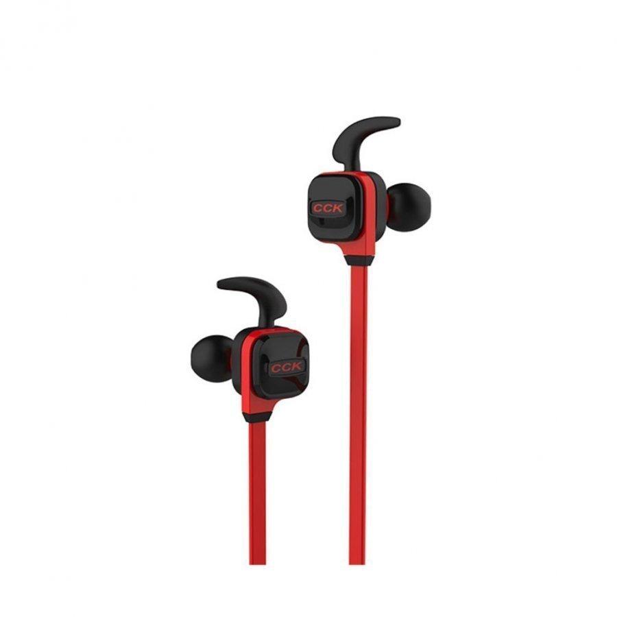 Cck-Ks Langattomat Bluetooth 4.1 Kuulokkeet Mikrofonilla Punainen