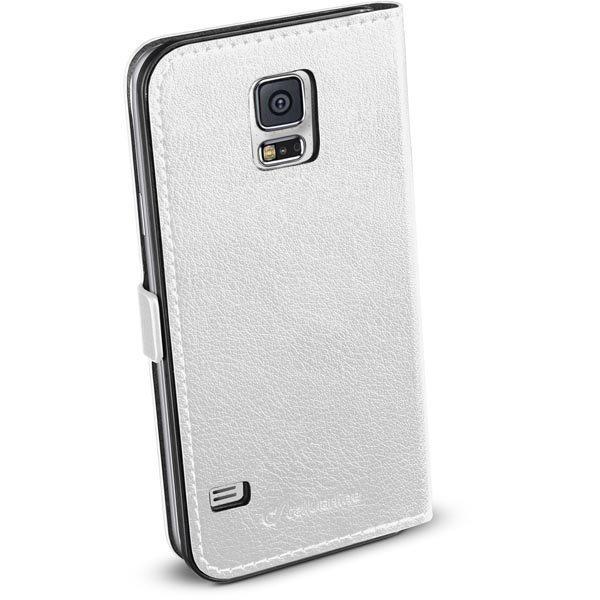 CellularLine Book Essential tekonahkasuojus Galaxy S5 magn valk