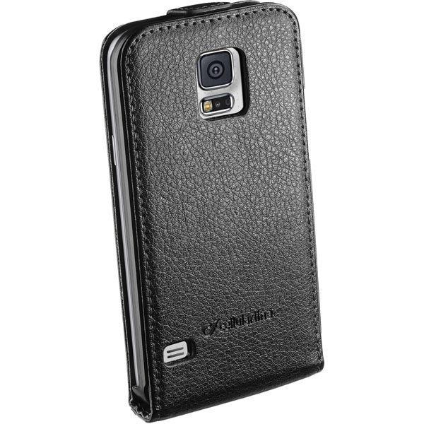 CellularLine Flap Essential tekonahkasuojus Galaxy S5 magn musta
