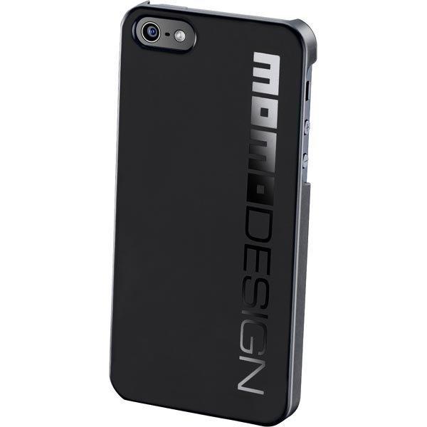 CellularLine MOMO design muovikuori iPhone 5 musta logo mu
