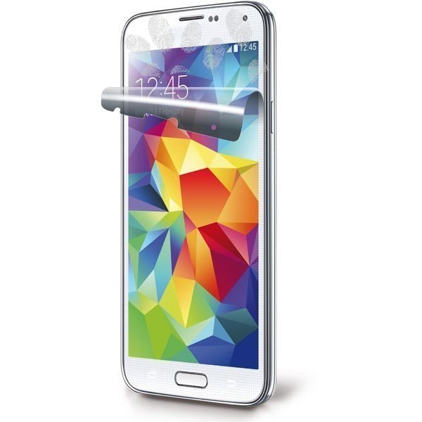 CellularLine Ok Display Anti-Trace läpinäk.suojakalvo Galaxy S5 2-