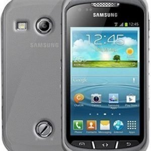 Celly Gelskin Cover for Samsung Galaxy Xcover 2 S7710 Transparant