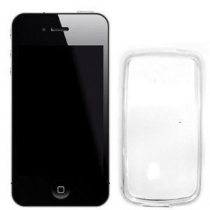 Celly Gelskin Cover for iPhone 4/4S Transparent
