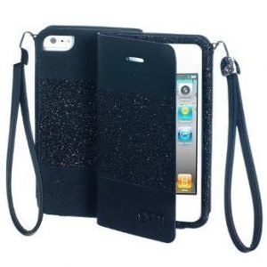 Celly Glamme Agenda iPhone 4 & 4S Black