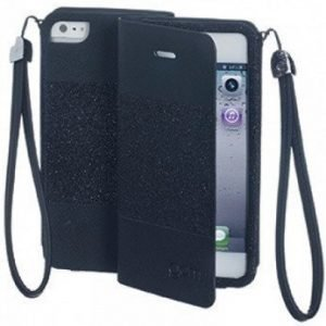Celly Glamme Agenda iPhone 5 Black