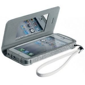 Celly Glamme Agenda iPhone 5 White