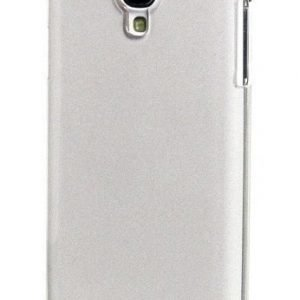 Celly Glamme Glitter Case for Samsung Galaxy S4 Silver