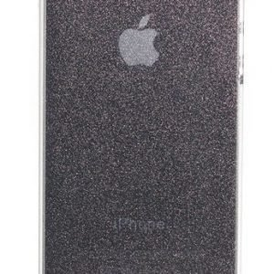 Celly Glamme Glitter Case for iPhone 4 Black