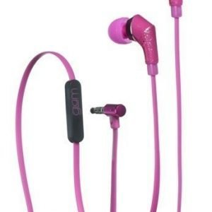 Celly Glamme Headset Glitter Fuschia