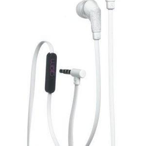 Celly Glamme Headset Glitter White