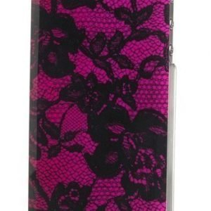 Celly Glamme Lace Case iPhone 4/4S Fuschia