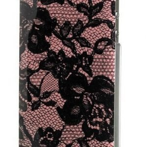 Celly Glamme Lace Case iPhone 4/4S Pink