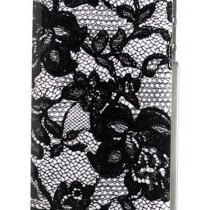 Celly Glamme Lace Case iPhone 4/4S White