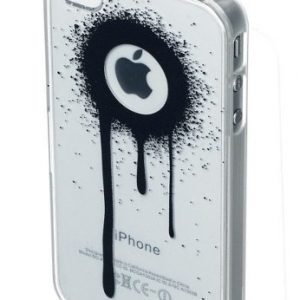 Celly Graffiti Drips Case for iPhone 4/4S Black