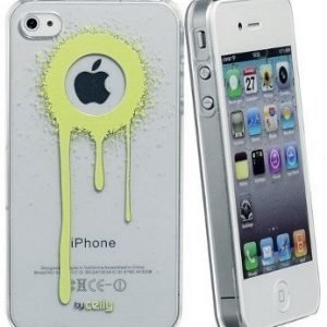 Celly Graffiti Drips Case for iPhone 4/4S Green