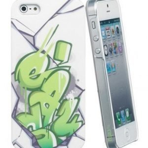 Celly Graffiti Easy Case for iPhone 5 Green